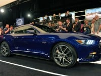 first 2015 Mustang GT at the Barrett-Jackson
