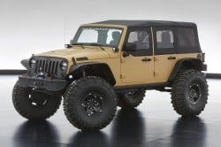 Jeep Wrangler Sand Trooper II