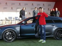 Real Madrid players receive their yearly Audis