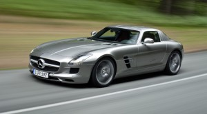 Mercedes SLS AMG pictures
