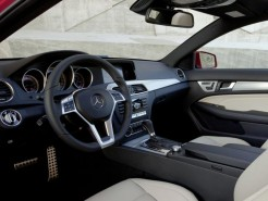 2012 Mercedes Benz C-Class Coupe Cockpit