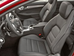 Mercedes Benz C-Class Coupe Front Seating
