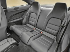 Mercedes Benz C-Class Coupe Rear Seating