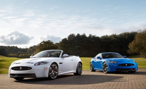 Jaguar XKR-S convertible and coupe