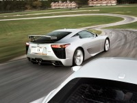 2012 Lexus LFA and 2012 Ferrari 458 Italia