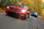 mercedes-benz c63 amg and bmw m3