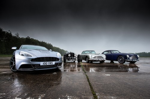 Aston Martin's 100-year highlights