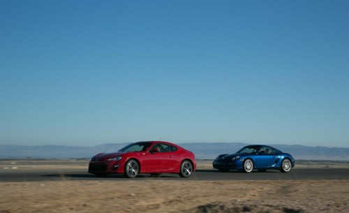Porsche Cayman 2012 vs. Scion FR-S 2012