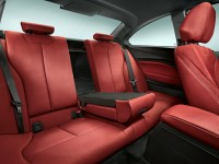 2014 BMW 2-Series Coupe rear seat