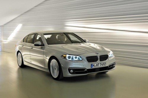 2014 BMW 5-Series facelift