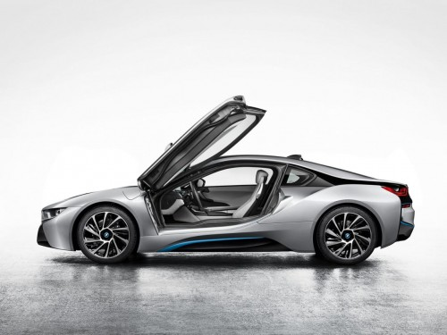 2014 BMW i8 production version