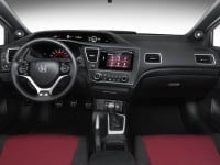 2015 Honda Civic Si Coupe Interior