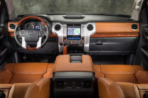 2014 Toyota Tundra 1794 Edition dashboard