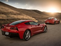 2014 Chevrolet Corvette Stingray and 2014 Porsche 911 Carrera S