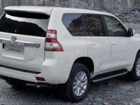 Toyota Land Cruiser Prado Rear