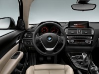 2015 BMW 1-Series facelift interior