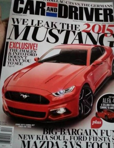 2015 Ford Mustang by car&driver