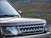 2015 Land Rover Discovery headlight