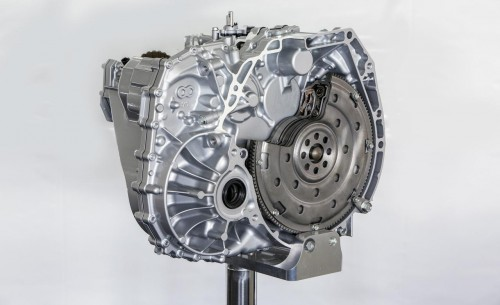 Acura TLX 8 speed dual clutch transmission