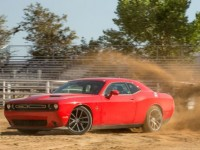 2015-dodge-challenger-rt-scat-pack-front-three-quarters-in-motion