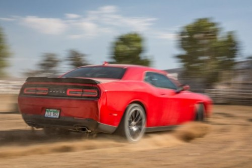 2015-dodge-challenger-rt-scat-pack-rear-three-quarters-in-motion