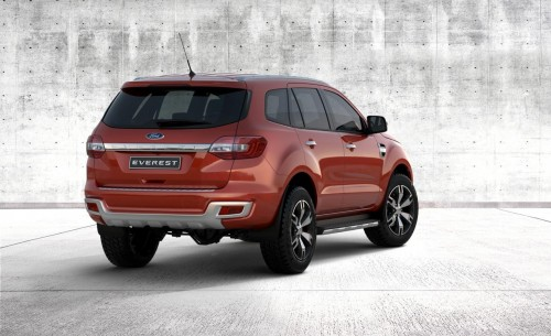 2015 Ford Everest SUV