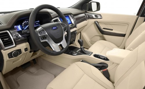 2015 Ford Everest Interior