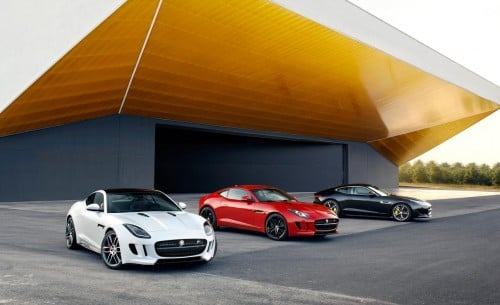 Jaguar F-type coupe, R and S