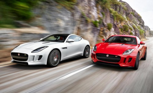 Jaguar F-type R coupe and S coupe