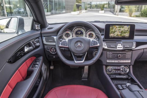 2015 Mercedes Benz CLS 63 AMG S 4MATIC Interior