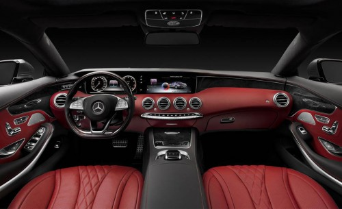 2015 Mercedes-Benz Coupe Interior