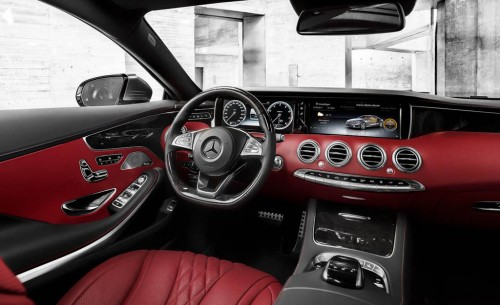 2015 Mercedes-Benz S500 4matic Coupe Interior