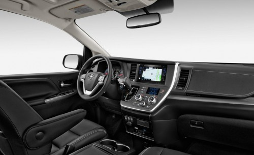 2015 Toyota Sienna Limited AWD 3.5L Interior