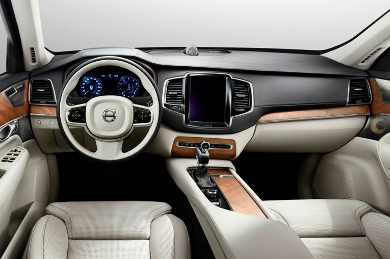 The new Volvo XC90 Interior