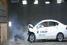 Brilliance H230 crash test