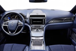 2015 Lincoln Continental concept interior