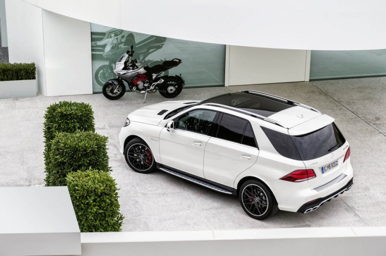 2016 Mercedes-Benz GLE 63 AMG S