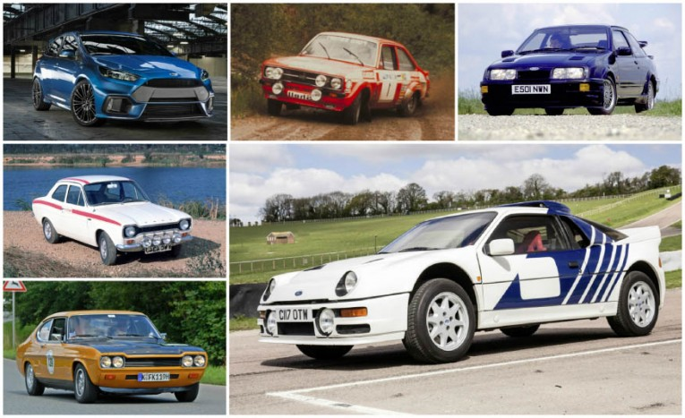 A Visual History of Every Ford RS Model