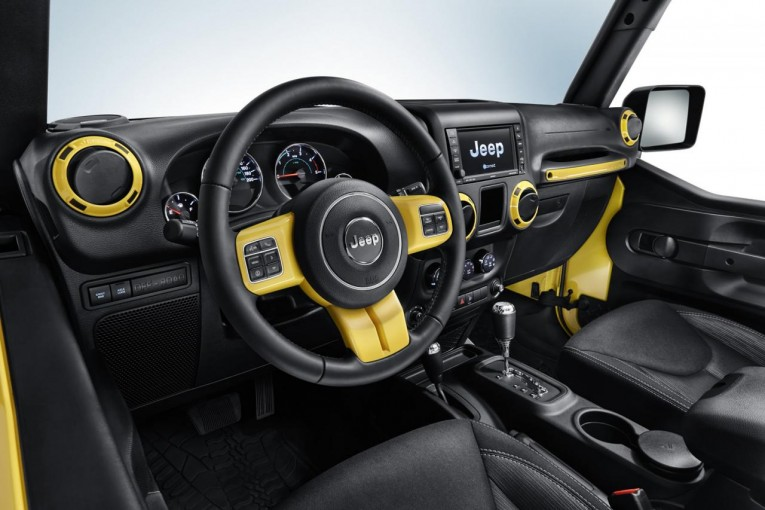 Jeep Wrangler Rubicon Rocks Star Interior