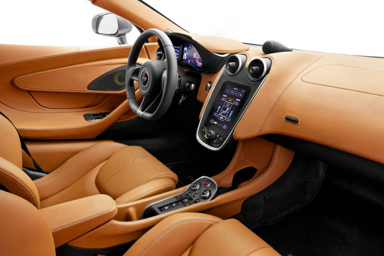 2016 McLaren 570S Coupe Interior