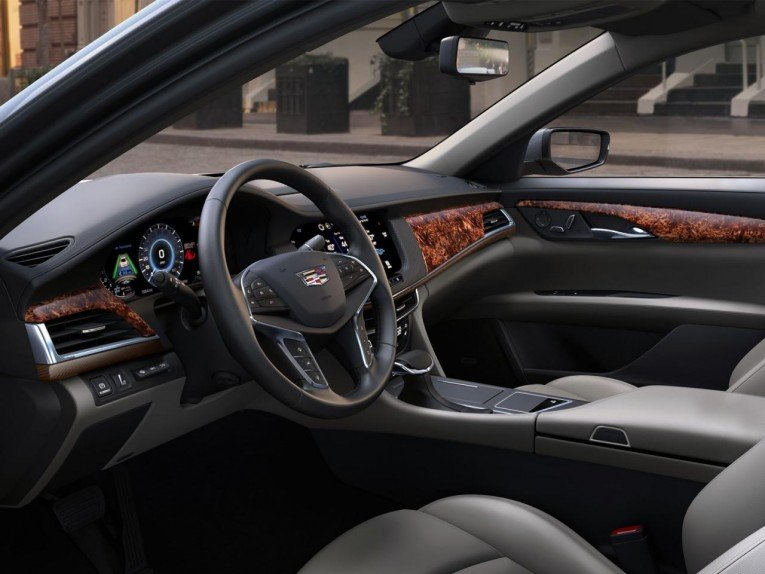 2016 Cadillac CT6 Interior