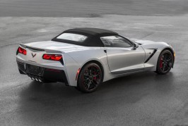 2016 Corvette Stingray and Z06 Jet Black Suede Design Package