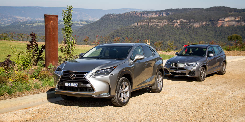 BMW X3 xDrive28i vs Lexus NX200t