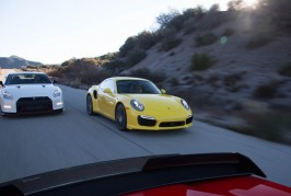 2015 Nissan GT-R NISMO and 2014 Porsche 911 Turbo S