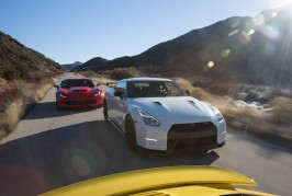 2015 Chevrolet Corvette Z06 and 2015 Nissan GT-R NISMO
