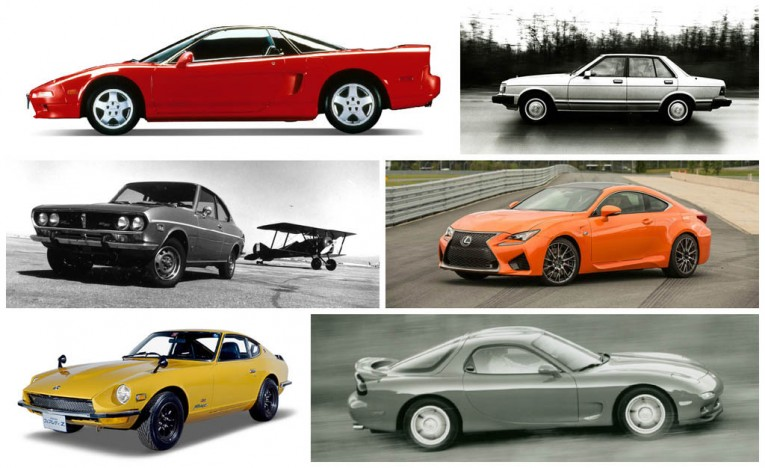 A Visual History of Japan's Hottest Sports Cars