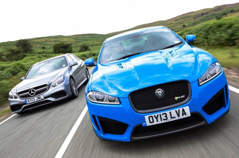 Jaguar XFR-S Sportbrake vs Mercedes E63 AMG S Estate