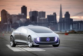 Mercedes-Benz F 015 Luxury in Motion prototype