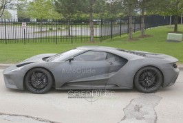 Ford GT 2017 Spy Photo