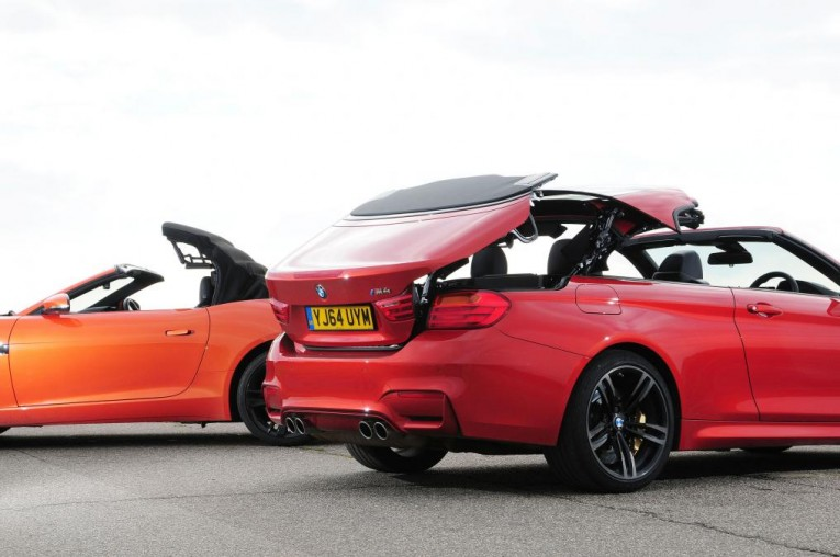 BMW M4 Convertible vs Jaguar F-Type